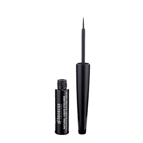 Benecos Natural Liquid Eyeliner Black - 3ml