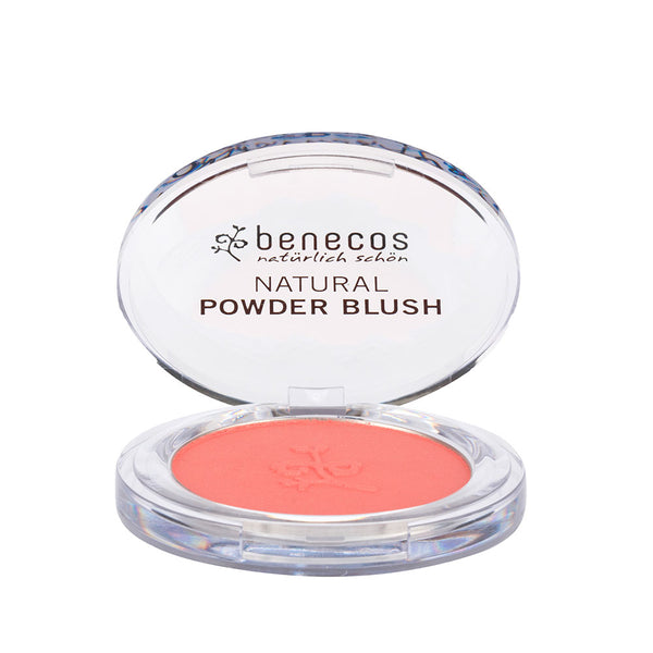 Benecos Natural Powder Blush - Sassy Salmon 5.5g