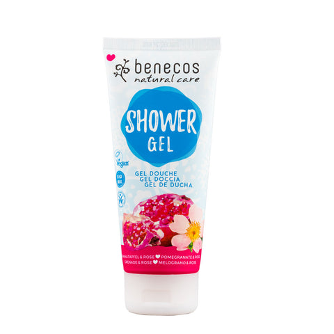 Benecos Natural Shower Gel Pomegranate & Rose - 200ml