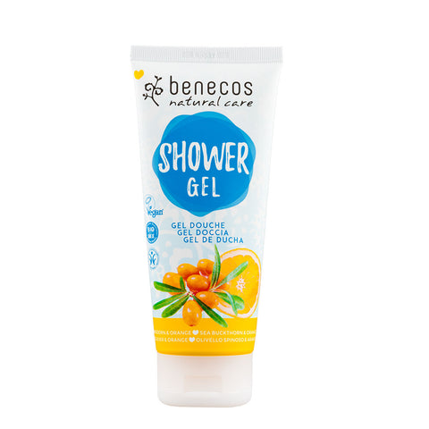 Benecos Natural Shower Gel Sea Buckthorn & Orange - 200ml