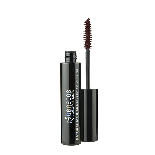 Benecos Natural Mascara Maximum Volume Brown - 8ml