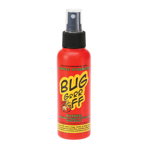Bug Grrr Off Jungle Strength Insect Repellent Spray - 100ml