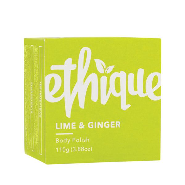 Ethique Lime & Ginger Solid Body Polish - 110g