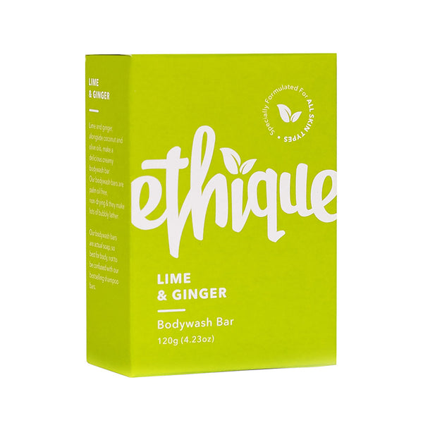 Ethique Lime & Ginger Solid Bodywash - 120g