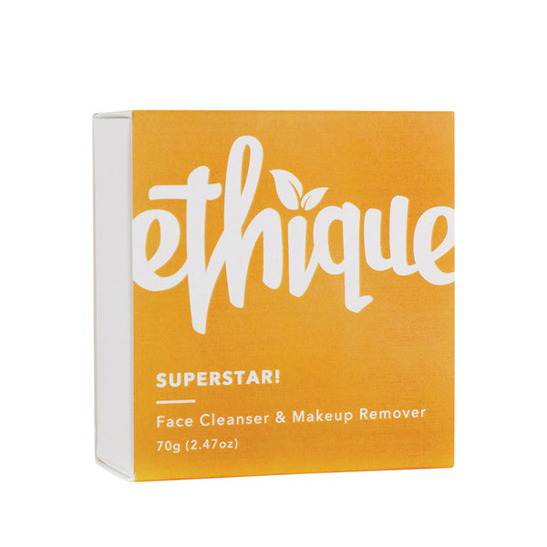 Ethique Superstar Face Cleanser & Makeup Remover - 65g