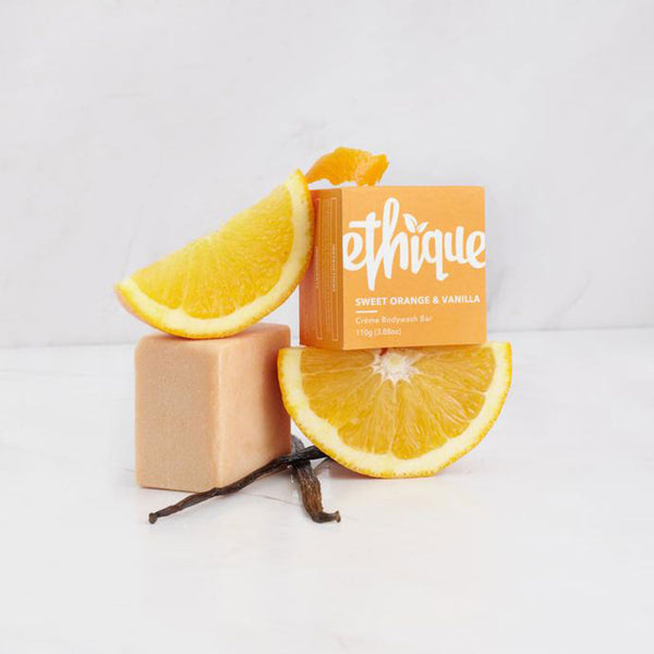 Ethique Sweet Orange & Vanilla CREME Bodywash Bar - 110g