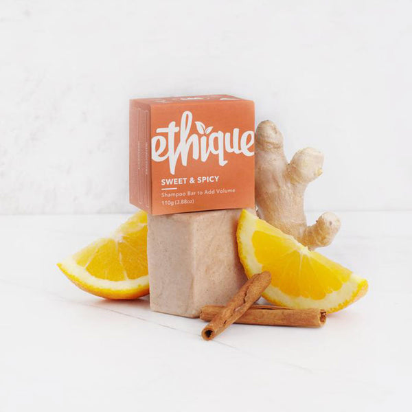 Ethique Sweet & Spicy Solid Shampoo - 110g