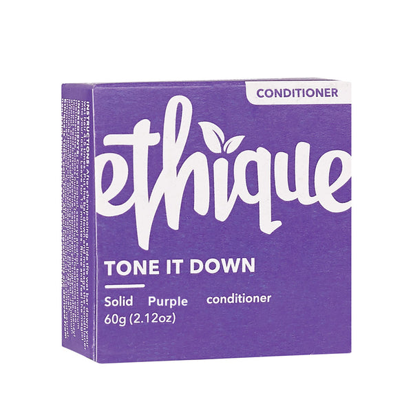 Ethique Tone it Down Purple Solid Conditioner - 60g