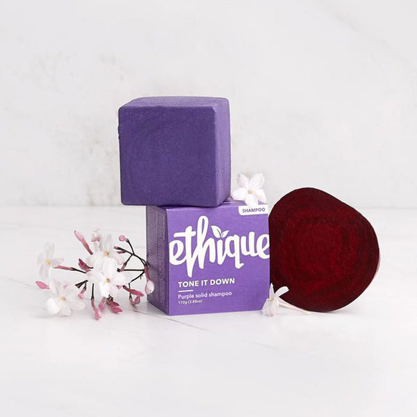 Ethique Tone it Down Purple Solid Shampoo - 110g