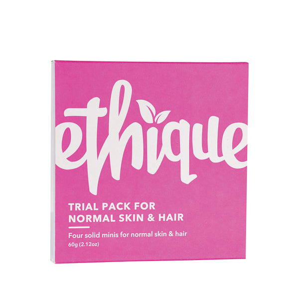 Ethique Trial Pack for Normal Skin & Hair - 60g