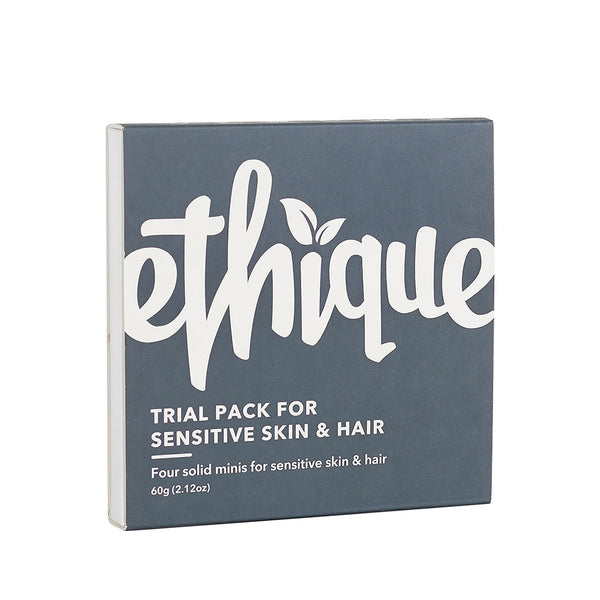 Ethique Trial Pack for Sensitive Skin & Hair - 60g
