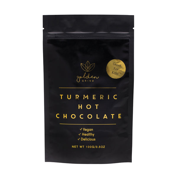 Golden Grind Turmeric Antioxidant Healthy Hot Chocolate - 100g