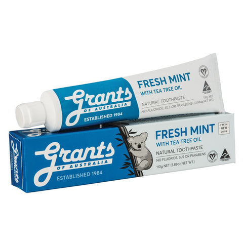 Grants of Australia Fresh Mint Toothpaste - 110g