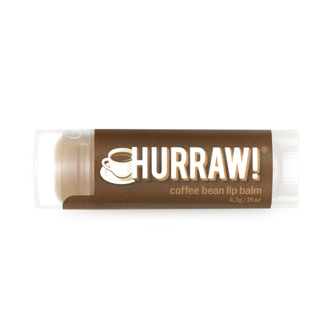 Hurraw Organic Lip Balm Coffee Bean - 4.3g