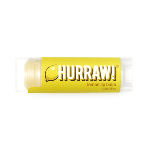 Hurraw Organic Lip Balm Lemon - 4.3g