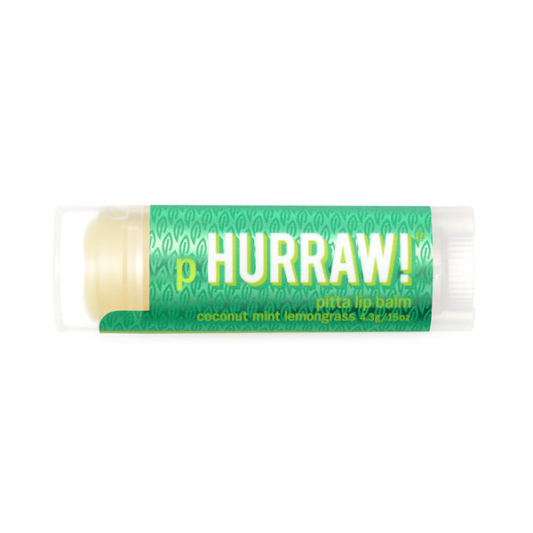 Hurraw Organic Lip Balm Pitta - 4.3g