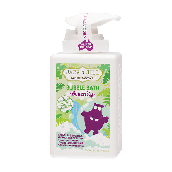Jack N' Jill Natural Bubble Bath Serenity - 300ml