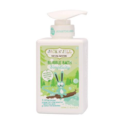 Jack N' Jill Natural Bubble Bath Simplicity - 300ml