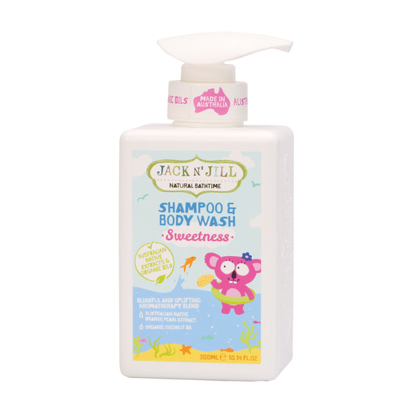 Jack N' Jill Natural Shampoo & Body Wash Sweetness - 300ml