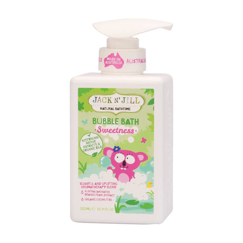 Jack N' Jill Natural Bubble Bath Sweetness - 300ml