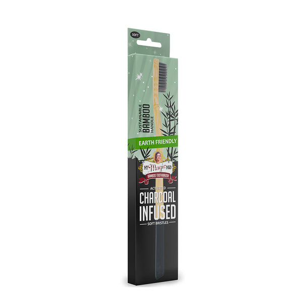 My Magic Mud Bamboo Charcoal Toothbrush - Soft
