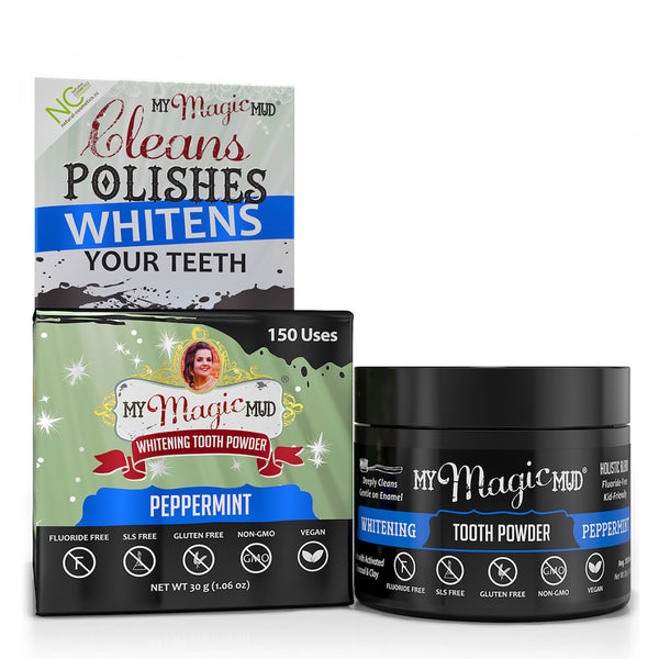 My Magic Mud Whitening Tooth Powder Peppermint - 30g