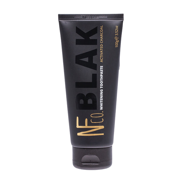 NFco BLAK Activated Charcoal Whitening Toothpaste - 100g