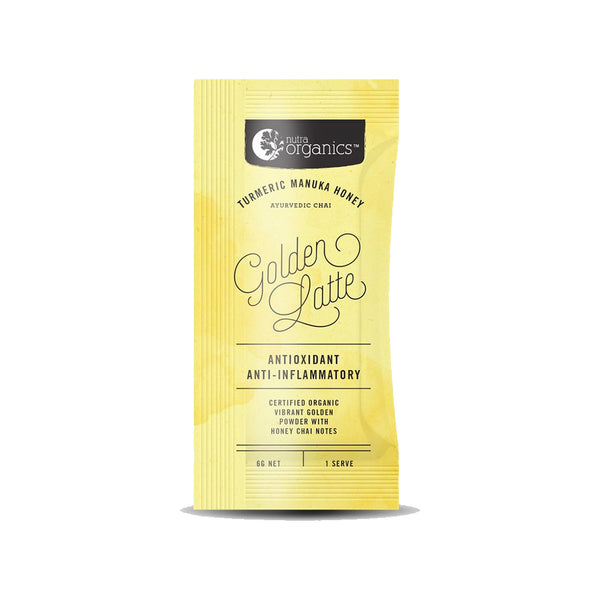 Nutra Organics Golden Latte Sample - 6g