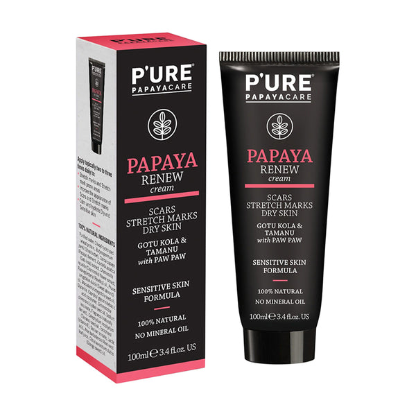P'URE Papaya Care Renew Cream - 100ml