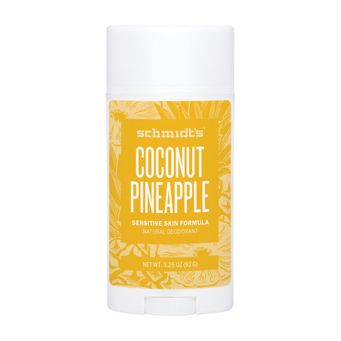 Schmidt's Deodorant Stick Coconut Pineapple (Sensitive Skin) - 92g
