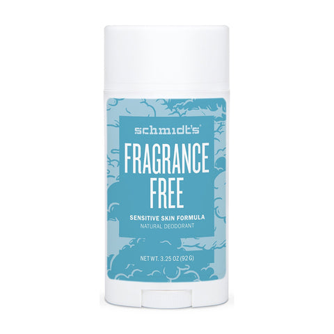Schmidt's Deodorant Stick Fragrance Free (Sensitive Skin) - 92g