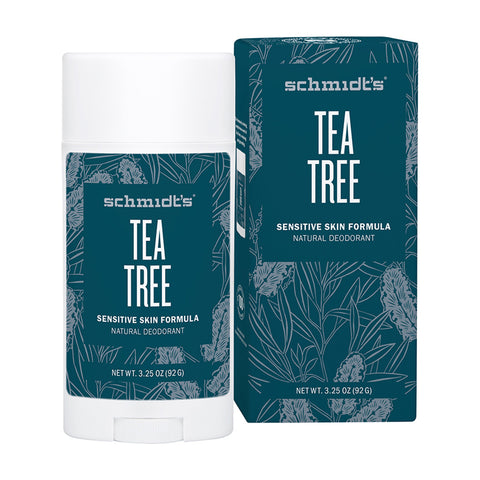 Schmidt's Deodorant Stick Tea Tree (Sensitive Skin) - 92g