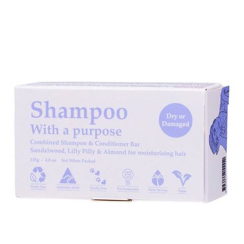 Shampoo with a Purpose - Dry or Damaged Hair 135g