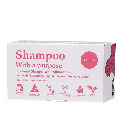 Shampoo with a Purpose - Volume 135g