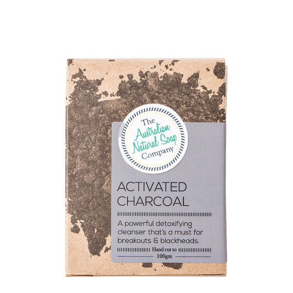 The Australian Natural Soap Company - Activated Charcoal 100g