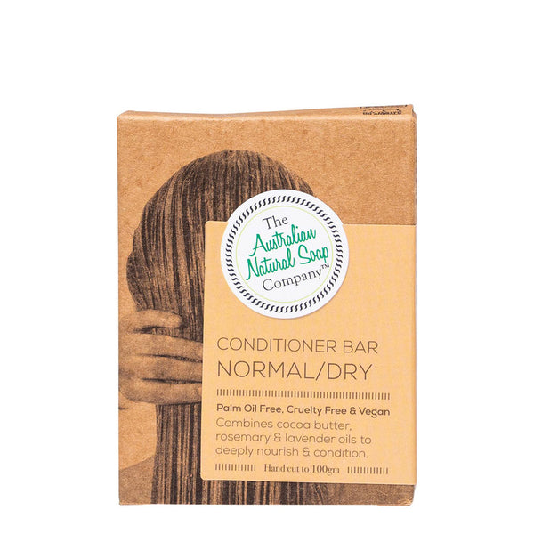 The Australian Natural Soap Company Conditioner Bar Normal/ Dry Hair 100g