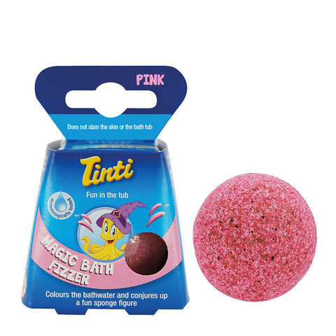Tinti Magic Bath Fizzer Pink - 40g