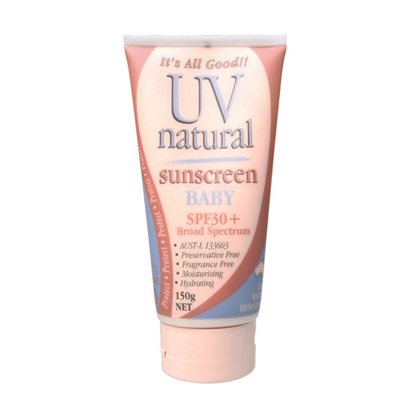 UV Natural Sunscreen Baby SPF 30+ - 150g