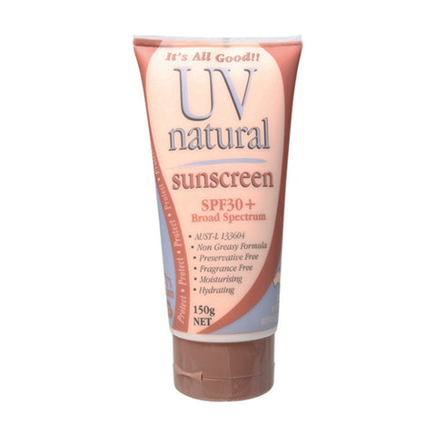 UV Natural Sunscreen SPF 30+ - 150g