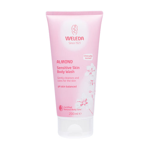 Weleda Almond Sensitive Skin Body Wash - 200ml