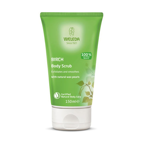 Weleda Birch Body Scrub - 150ml