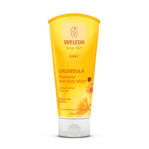 Weleda Calendula Shampoo & Body Wash - 200ml