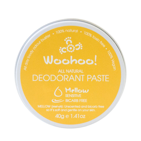 Woohoo All Natural Deodorant Paste - Mellow 40g