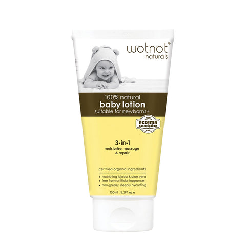 Wotnot Natural Baby Lotion - 135ml