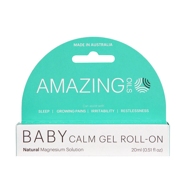 Amazing Oils Magnesium Baby Calm Gel Roll-On - 20ml