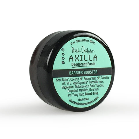 Black Chicken Axilla Natural Deodorant Paste Barrier Booster Mini - 15g