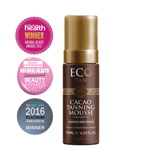 Eco Tan Cacao Tanning Mousse - 125ml