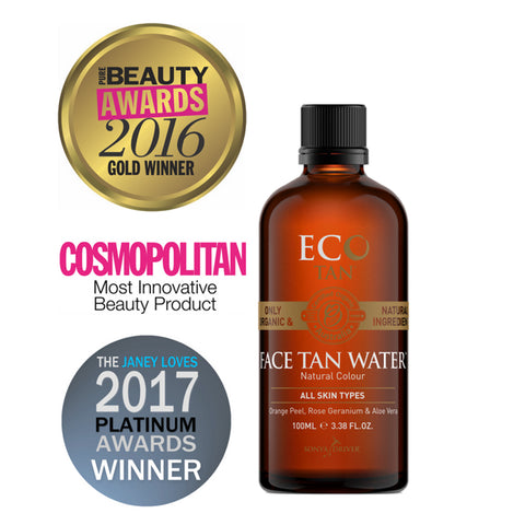 Eco Tan  Face Tan Water - 100ml