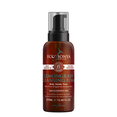 Eco Tan Lemongrass Cleansing Foam - 375ml
