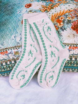 The Embroidered Socks